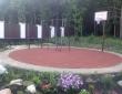 88. Спортивная площадка из резиновой плитки
