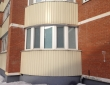 74. Шторы плиссе на балконе