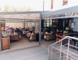 """08. Кафе """"КРАФТ"""", г.Пенза, ул.Володарского, пергола с раздвижной крышей и раздвижными стенами, вход в кафе"""