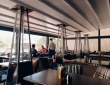 """06. Кафе """"КРАФТ"""", г.Пенза, ул.Володарского, пергола с раздвижной крышей и раздвижными стенами, вид изнутри"""