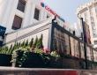 """05. Кафе """"КРАФТ"""", г.Пенза, ул.Володарского, пергола с раздвижной крышей и раздвижными стенами, вид с дороги"""