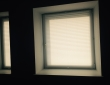 42. Шторы плиссе на нестандартных окнах в квартире