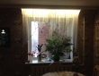 56. Кухонные шторы в столовой